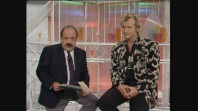 Rutger Hauer ospite di Maurizio Costanzo a Buona Domenica 1986
