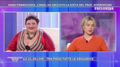 """Anna Pannocchia: """"Ho iniziato la dieta del prof. Sorrentino"""""""