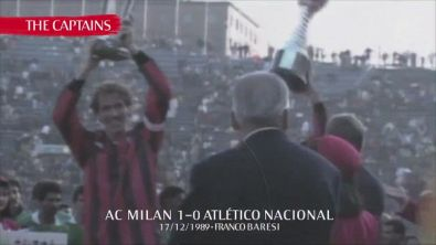 """Il Milan celebra i suoi capitani: """"Simboli della nostra storia"""""""