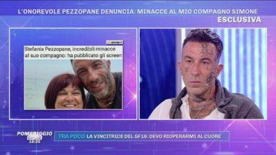 Simone Coccia: ''La mia compagna Stefania pezzopane è molto preoccupata''