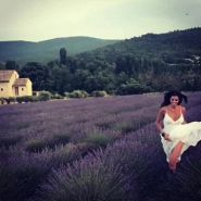Laura Torrisi, vacanze d'amore in Provenza
