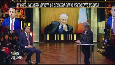 Luigi Di Maio: l'inchiesta rifiuti