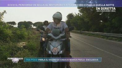 Morte Maria Paola Gaglione, il percorso in sella al motorino fatto da Ciro e Paola quella notte