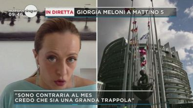 Giorgia Meloni e l'Europa