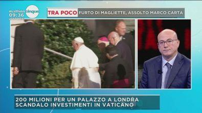 L'ultimo scandalo sugli investimenti del Vaticano