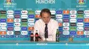 """Europei, Mancini: """"Ero sicuro che avremmo fatto una grande partita"""""""