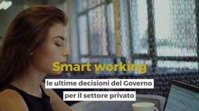 Smart working: le ultime decisioni del governo per il settore privato