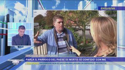 Caso Ziliani: parla il parroco del paese di Mirto