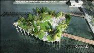La Little Island di New York