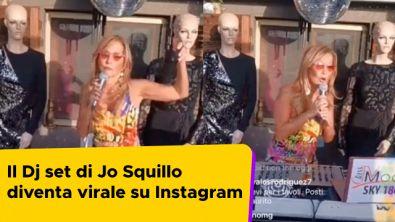 Il dj set di Jo Squillo diventa virale su Instagram