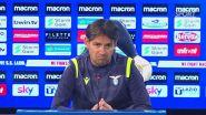 """Inzaghi: """"Il mercato della Lazio è chiuso"""""""