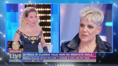 La figlia di Claudio Villa: non ho ereditato nulla