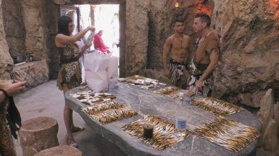 L'arrivo della spesa in Caverna