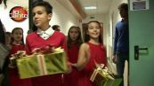 Il dietro le quinte della puntata di Natale