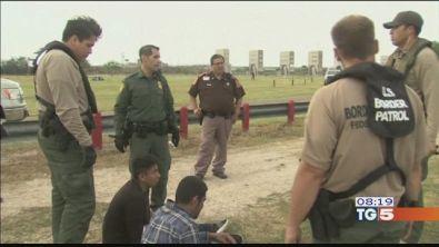Usa-Messico guardie al confine