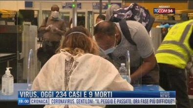 Breaking News delle 18.00 | Virus, oggi 234 casi e 9 morti