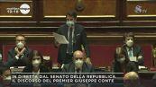 """Conte al Senato: """"Bisogna voltare pagina """""""
