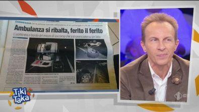 """Tiki Taka, Militello e i """"Cartelli d'Italia"""" da ridere"""