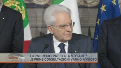 Le consultazioni del Presidente della Repubblica