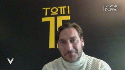 La nuova vita di Francesco Totti