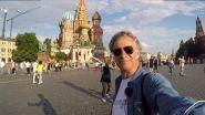 La piazza Rossa e il Volga