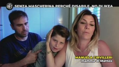 "Senza mascherina perché disabile. ""No"" di Ikea"