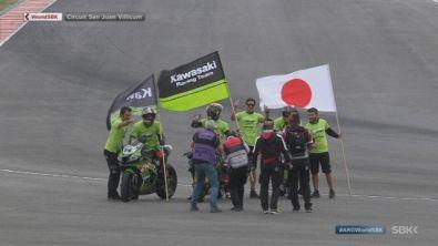 La Kawasaki fa festa