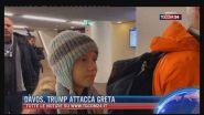 Davos, Trump attacca Greta