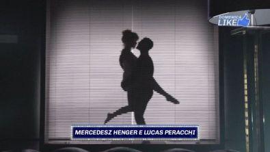 """Mercedesz e Lucas in """"Nove settimane e mezzo"""""""