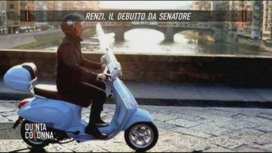 Matteo Renzi, il senatore