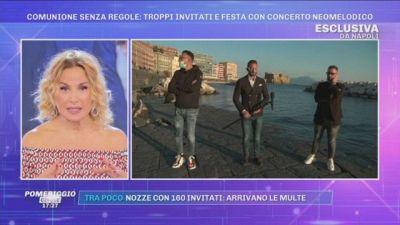 Napoli, Comunione senza regole: Troppi invitati e festa con concerto neomelodico
