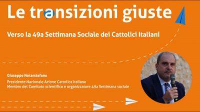 Settimana sociale CEI, Notarstefano: antifragilità per ripartire