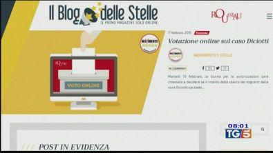 Voto online, 5 Stelle su Salvini e governo