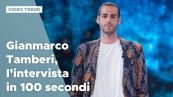 Gianmarco Tamberi, l'intervista in 100 secondi