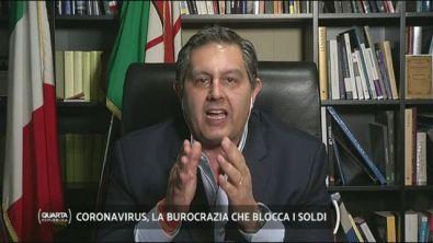 """Coronavirus, il Presidente della Liguria Toti: """"liberarsi della macchina burocratica"""""""