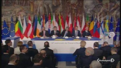I 27 firmano per la nuova Europa
