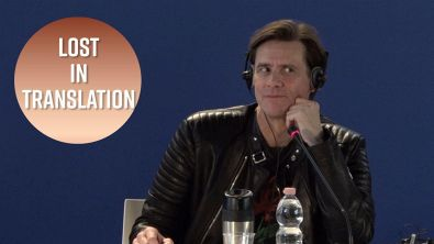 Jim Carrey mattatore... di conferenze stampa!