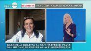 Virus: Gabriella salva con la plasmaterapia