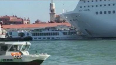 Venezia e le grandi navi