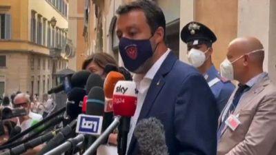 Salvini: prorogare lo stato d'emergenza sarebbe un brutto segnale