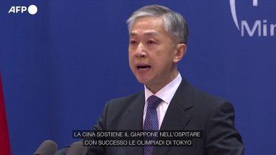 Tokyo 2020, la Cina sostiene il Giappone dopo la decisione di vietare gli spettatori