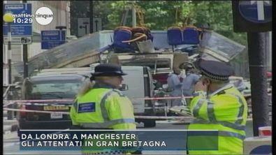 Gli attentanti in Gran Bretagna