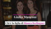 Giulia Manconi, chi è la figlia di Bianca Berlinguer