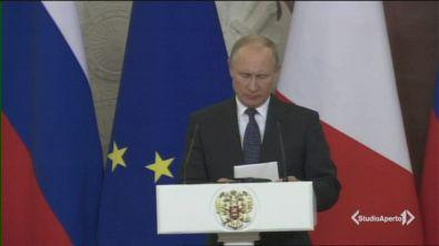 Lo zar Putin in missione a Roma
