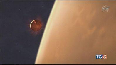Nasa su Marte dopo un viaggio di 6 mesi