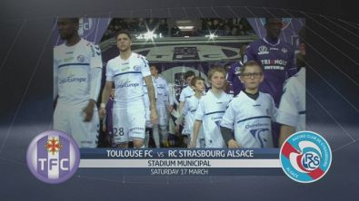 Toulouse FC-RC Strasbourg Alsace 2-2