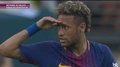 Neymar, addio Barcellona