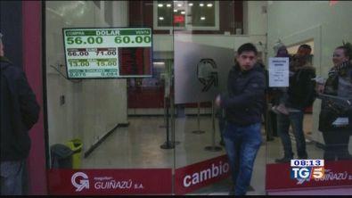 Primarie in Argentina crollo della Borsa