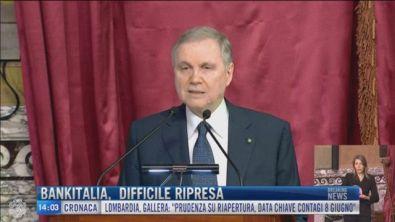 Breaking News delle 14.00 | Bankitalia difficile ripresa