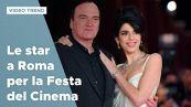 Festa del Cinema di Roma, le star sul red carpet